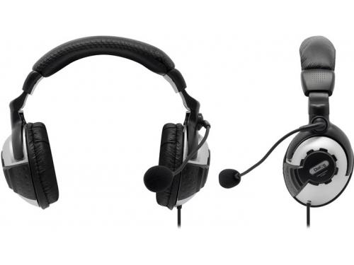 Гарнитура для ПК Dialog M-780HV, серебристо-черная, вид 1