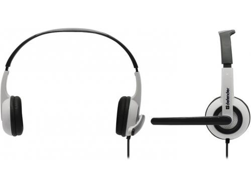 Гарнитура для ПК Defender Esprit 055, белая с серым, вид 1