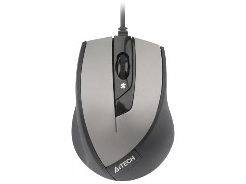 Мышь A4Tech N-600X-2 USB, серая, вид 1
