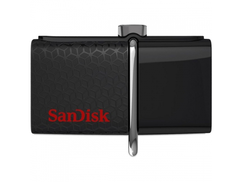 Usb-флешка Sandisk Ultra Dua 128Gb черная, вид 1
