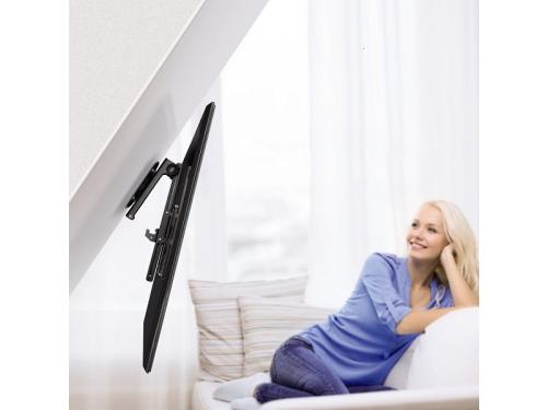 Кронштейн Hama Curved TV, черный, вид 5