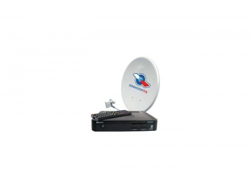 Комплект спутникового телевидения Триколор GS E501 + GS C5911 Европа (на 2 ТВ), черный, вид 1