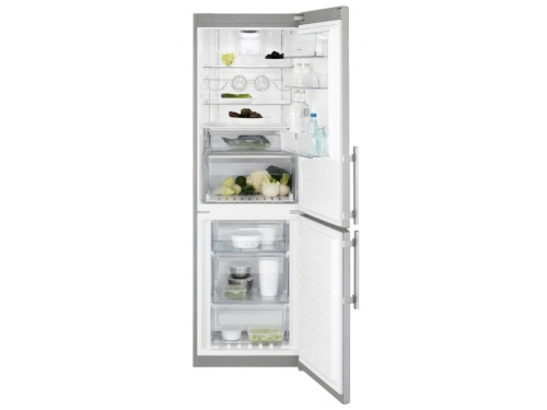 Холодильник Electrolux EN 3486 MOX, серебристый, вид 2