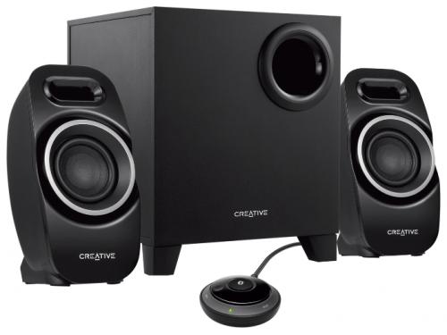 Компьютерная акустика Creative T3250 Wireless, черная, вид 1