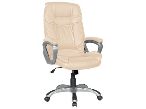 Компьютерное кресло College XH-2002, бежевая экокожа, вид 1