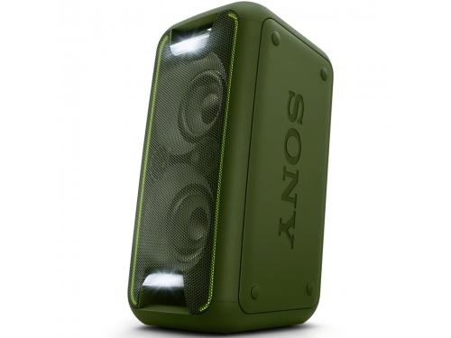 Портативная акустика Sony GTK-XB5G, зеленая, вид 1