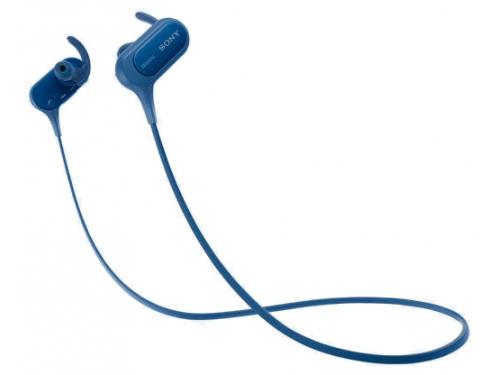 Наушники Sony MDR-XB50BS, синяя, вид 1