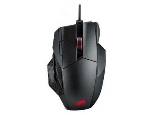 Мышка Asus Rog Spatha USB, черная, вид 2