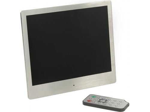 Цифровая фоторамка Ritmix RDF-880 (металл), вид 1