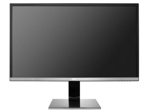 Монитор AOC U3277PWQU, черно-серебристый, вид 2