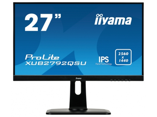 Монитор Iiyama XUB2792QSU-B1, черный, вид 2