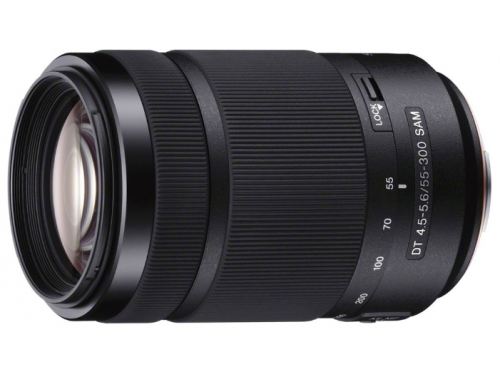 Объектив для фото Sony DT 55-300mm f/4.5-5.6 (SAL-55300, телеобъектив Zoom), вид 2