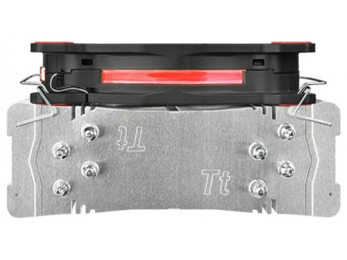 Кулер компьютерный Thermaltake Riing Silent 12 (CL-P022-AL12RE-A), красный, вид 3