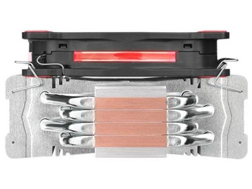 Кулер компьютерный Thermaltake Riing Silent 12 (CL-P022-AL12RE-A), красный, вид 4