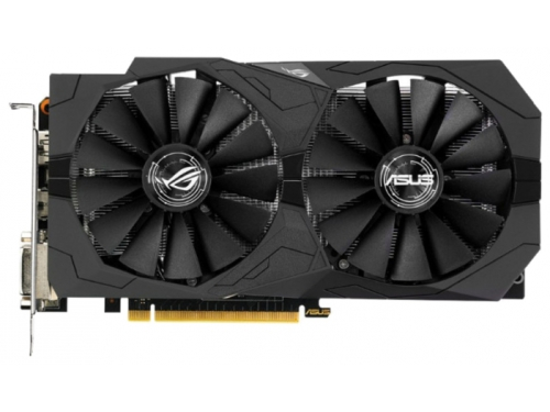 Видеокарта GeForce ASUS GeForce GTX 1050 1354Mhz PCI-E 3.0 2048Mb 7008Mhz 128 bit 2xDVI HDMI HDCP Strix Gaming, вид 1