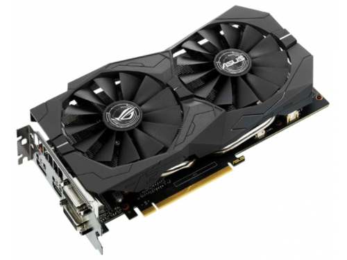 Видеокарта GeForce ASUS GeForce GTX 1050 1354Mhz PCI-E 3.0 2048Mb 7008Mhz 128 bit 2xDVI HDMI HDCP Strix Gaming, вид 2