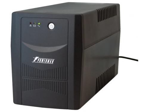 Источник бесперебойного питания Powerman Back Pro 1500 Plus 1500VA (interface+soft), вид 1