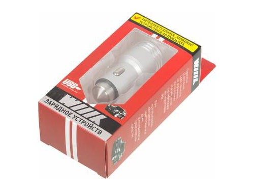 Зарядное устройство Wiiix UCC-2-12, 2.1A+1A, вид 3
