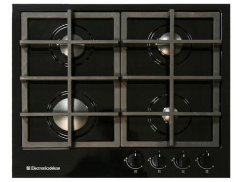 Варочная поверхность Electronicsdeluxe TG4_750231F-028, черный глянец, вид 1