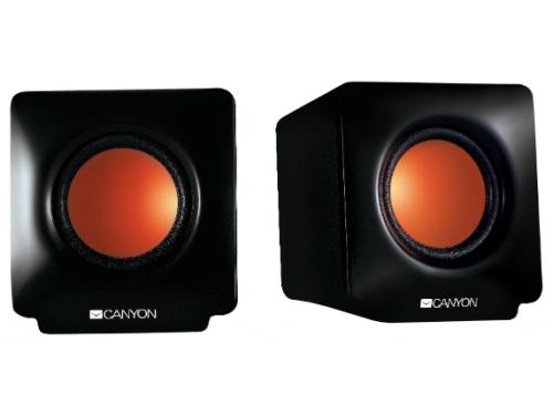 Компьютерная акустика Canyon CNE-CSP201 (JUCNECSP201), чёрные, вид 1