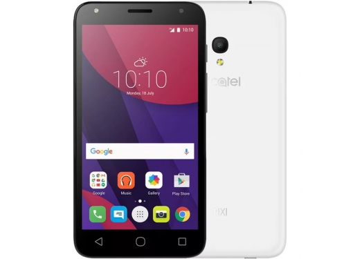 Смартфон Alcatel Pixi 4 (5) 5010D 8Gb, белый, вид 3