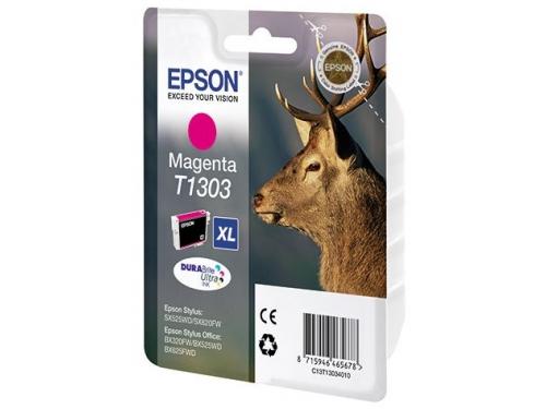 Картридж Epson T1303 (экстра повышенная ёмкость), пурпурный, вид 1