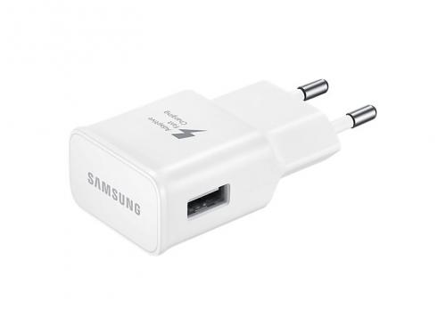 Зарядное устройство Samsung 2A (EP-TA20EWECGRU) белое, вид 2
