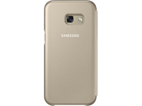 Чехол для смартфона Samsung для Samsung Galaxy A3 (2017) Neon Flip Cover, золотистый, вид 3