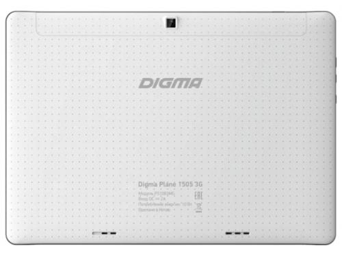 Планшет Digma Plane 1505 3G 1/8Gb, белый, вид 2