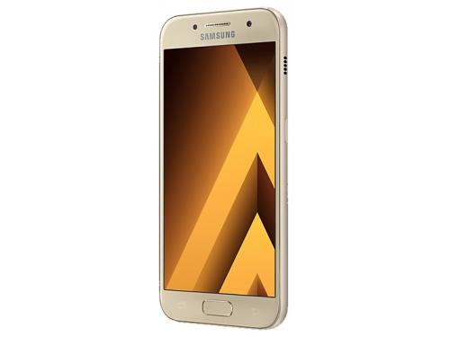 Смартфон Samsung Galaxy A3 (2017) SM-A320F, золотистый, вид 1