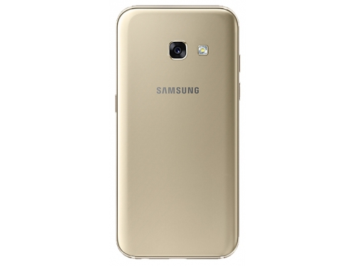 Смартфон Samsung Galaxy A3 (2017) SM-A320F, золотистый, вид 2