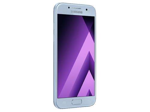 Смартфон Samsung Galaxy A3 (2017) SM-A320F, голубой, вид 1