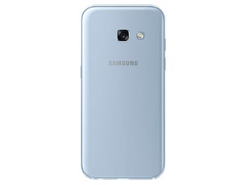 Смартфон Samsung Galaxy A3 (2017) SM-A320F, голубой, вид 2