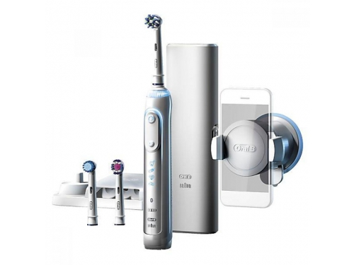 Зубная щетка Oral-B Professional Care Genius 8000/D701, белая, вид 3