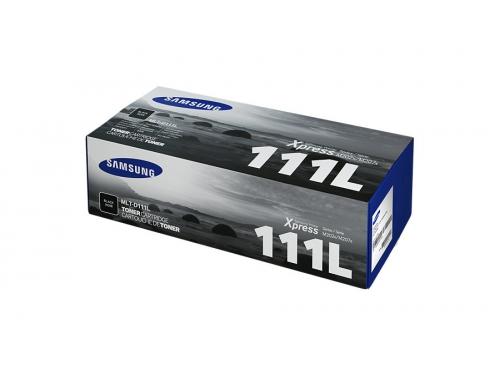 Картридж Samsung MLT-D111L (черный, 1800 стр., для SL-M2020/M2020W,M2070/M2070W/M2070FW), вид 1