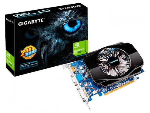 ���������� GeForce Gigabyte PCI-E NV GV-N730-2GI GT730 2048MB DDR3 128bit, ��� 3