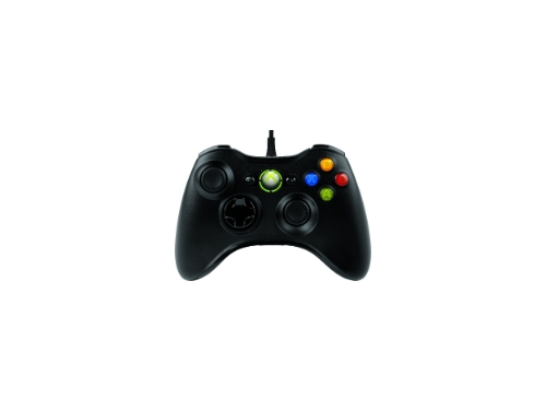 Геймпад Microsoft Xbox 360 Controller for Windows Black, вид 2