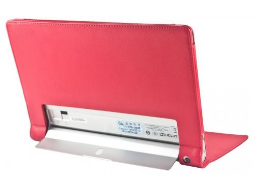 Чехол для планшета IT BAGGAGE для планшета LENOVO Yoga Tablet 2, 10.1'', искус.кожа, красный, вид 3