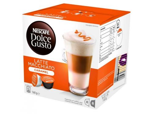 Кофе Nescafe Dolce Gusto Latte Macchiato Caramel, вид 1