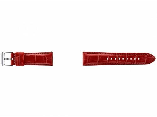 Ремешок для умных часов Samsung Galaxy Gear S3 classic ET-YSA76MREGRU оранжево-красный, вид 1
