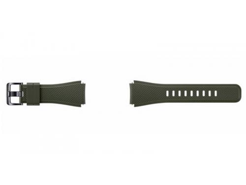Ремешок для умных часов Samsung Galaxy Gear S3 Frontier ET-YSU76MGEGRU хаки, вид 1