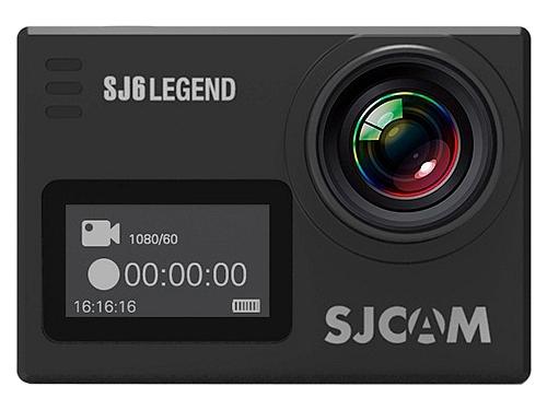 Видеокамера SJCAM SJ6 legend, черная, вид 2