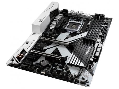 Материнская плата ASRock Z270 Killer SLI (DDR4, LGA1151, Z270), вид 1
