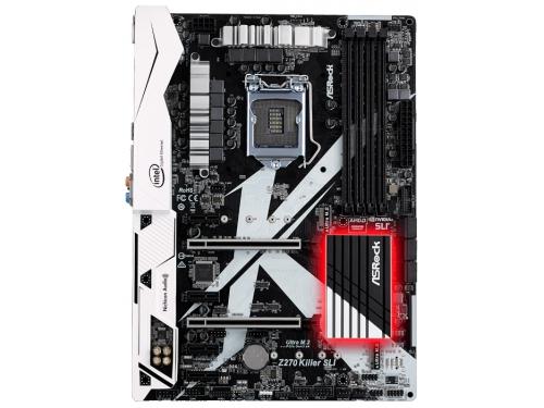 Материнская плата ASRock Z270 Killer SLI (DDR4, LGA1151, Z270), вид 2