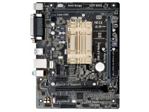 Материнская плата Asus N3150M-E (Intel Celeron N3150, 2xDIMM DDR3), вид 2