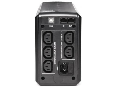 Источник бесперебойного питания Powercom Smart King Pro+ SPT-700 (700 ВА/490 Вт), черный, вид 1