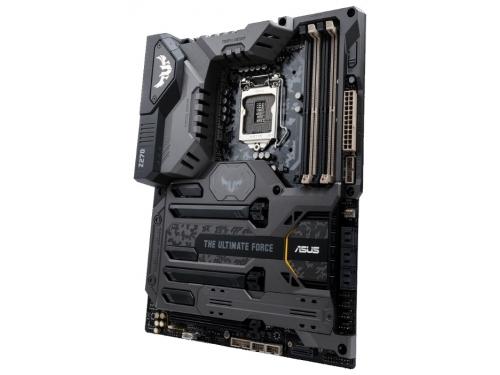 Материнская плата ASUS TUF Z270 Mark 1 (ATX, LGA1151, Intel Z270, 4xDDR4), вид 2