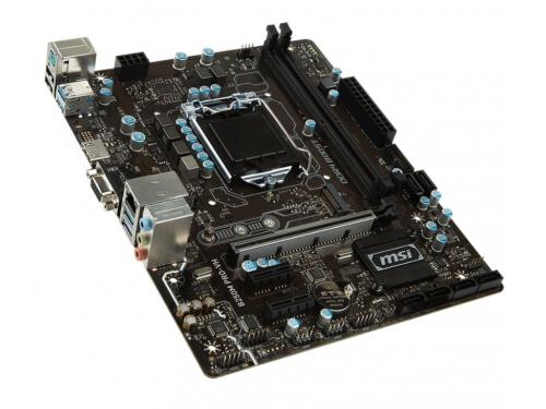 Материнская плата MSI B250M PRO-VH (mATX, LGA1151, Intel B250, 2xDDR4), вид 2