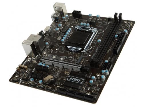Материнская плата MSI B250M PRO-VH (mATX, LGA1151, Intel B250, 2xDDR4), вид 3
