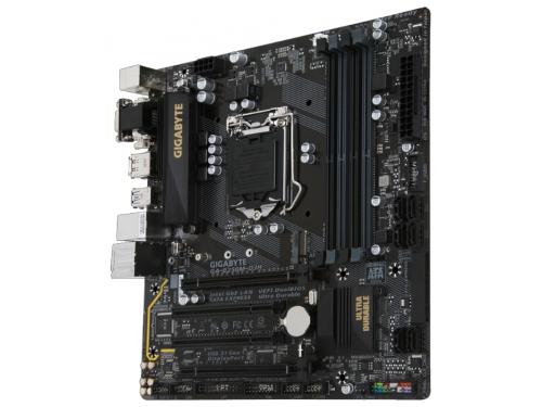 Материнская плата Gigabyte GA-B250M-D3H (rev. 1.0) (mATX, LGA1151, Intel B250, 4xDDR4), вид 2